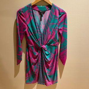 BCBG MaxAzria Emerald printed Dress
